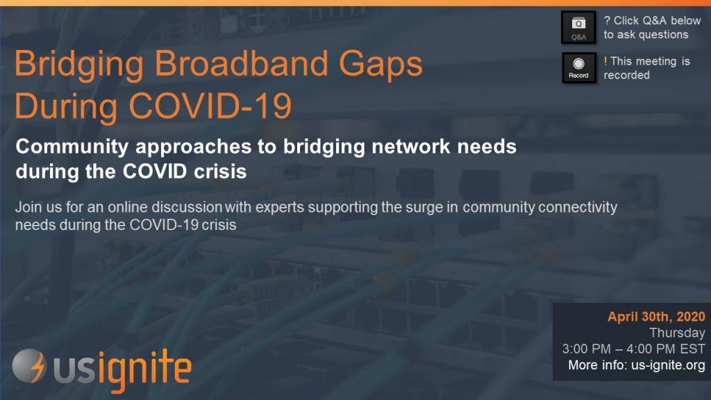 Banner Bridging Boradband Gaps During COVID-19